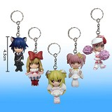 Shugo Chara key chain a set
