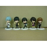Gintama anime figures(5 a set)