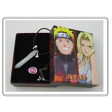 Naruto anime necklace+ring