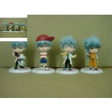 Gintama anime figures(4pcs a set)