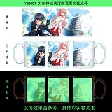 Sword Art Online anime glow in the dark cup YGB007