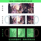 Sword Art Online anime glow in the dark cup YGB008