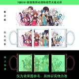 Reborn anime glow in the dark cup YGB016