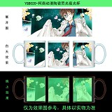 Detective conan anime glow in the dark cup YGB020