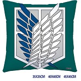 Attack on Titan anime double sides pillow 3912