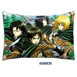 Attack on Titan anime double sides pillow 40x60CM(2198)