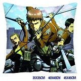Attack on Titan anime double sides pillow-3537