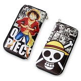 One Piece anime long wallet