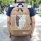 Attack on Titan anime thick canvas bag