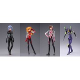 EVA anime figures(4pcs a set)