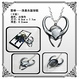 Thor anime necklace(Silver)