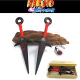 Naruto anime ring+weapons
