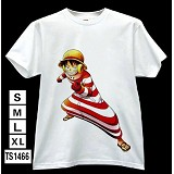 One Piece luffy anime t-shirt TS1466