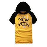 One Piece Law anime cotton hoodie/t-shirt