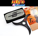 Naruto cosplay weapon+headband