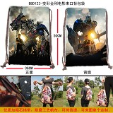 Transformers anime drawstring bag BBD123