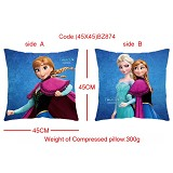 Frozen anime double sided pillow(45X45)BZ874