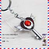 Sailor Monn anime key chain