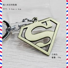 Super man anime key chain