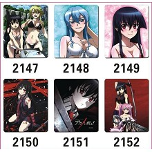 Akame ga KILL! anime mouse pads(6pcs a set)