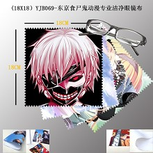 Tokyo ghoul anime Glass cleaning cloth(5pcs)