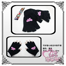 Shugo Chara anime cotton gloves