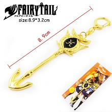 Fairy Tail Pisces anime key chain