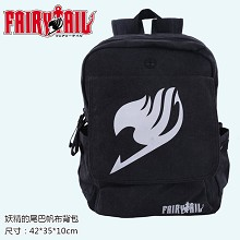 Fairy Tail canvas backpack bag