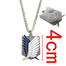 Attack on Titan iron necklace