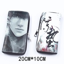 Tomb Notes anime pu long wallet/purse