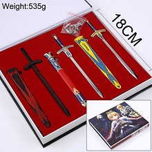 Fate Stay Night cos weapons a set