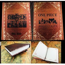One Piece hard cover notebook(120pages)