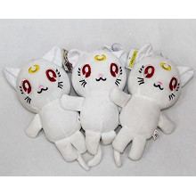 7.2inches Sailor Moon plush dolls set(3pcs a set)