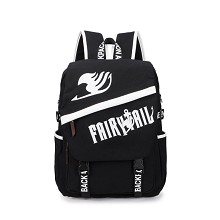 Fairy Tail black backpack bag