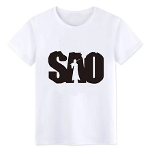 Sword Art Online cotton white t-shirt
