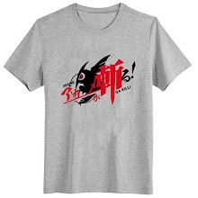 Akame ga KILL! cotton gray t-shirt