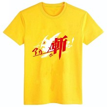 Akame ga KILL! cotton yellow t-shirt