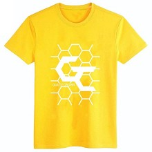 Guilty Crown cotton yellow  t-shirt