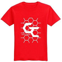 Guilty Crown cotton red t-shirt