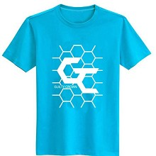 Guilty Crown cotton blue t-shirt