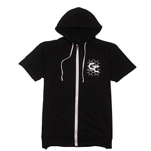 Guilty Crown cotton short sleeve hoodie