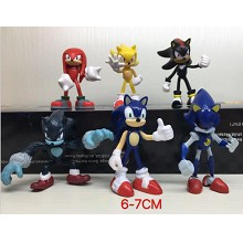 Super sonic figures set(5pcs a set)