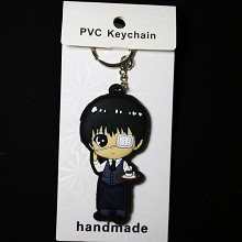Tokyo ghoul two-sided key chain