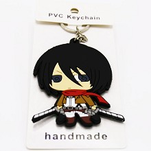 Attack on Titan PVC two-sided key chain
