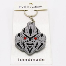 Transformers PVC two-sided key chain