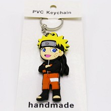 Naruto PVC two-sided key chain