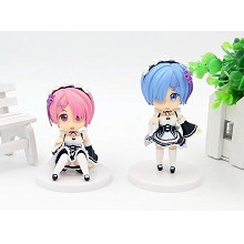 Re:Life in a different world from zero figures set(2pcs a set)