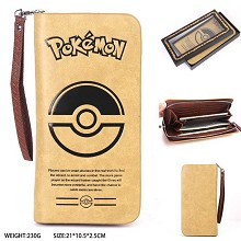 Pokemon long wallet