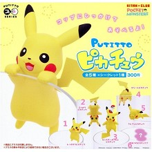 Pokemon Pikachu PUTITTO figures set(6pcs a set)