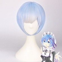 Re:Life in a different world from zero Rem cosplay wig